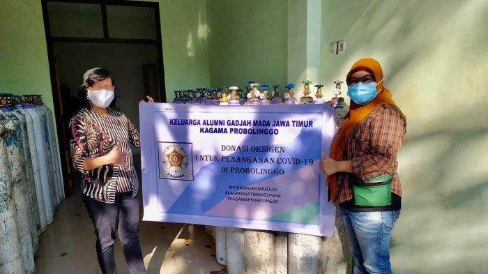 PT Smelting dan Kagama Jatim Bagikan 1.500 Tabung Oksigen di Enam Kota dan Kabupaten