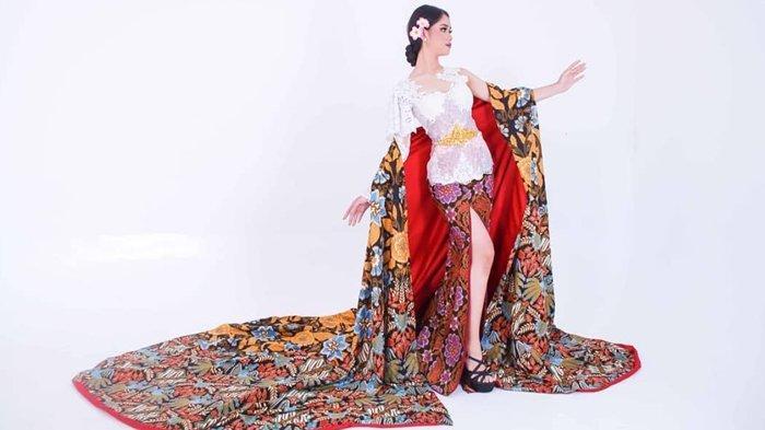 Busana Etnik Kontemporer Rancangan Choirul Achmad, Usung Kebaya dan Batik dengan Jubah ala Ratu