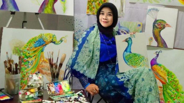 Filosofi Merak Dalam Lukisan Pembuka Tahun Karya Aimee Tri
