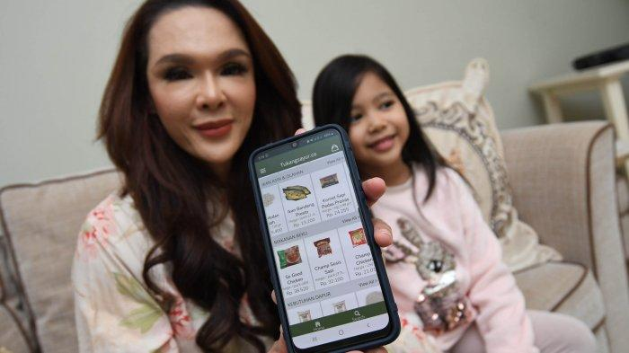 Michilia Mevi Pilih Belanja Kebutuhan Secara Online Sejak Terapkan Physical Distancing