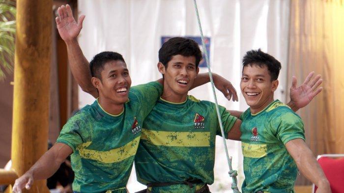 Cabang Olahraga Panjat Tebing Tambah Perolehan Emas Jatim Di PON XX Papua 2021