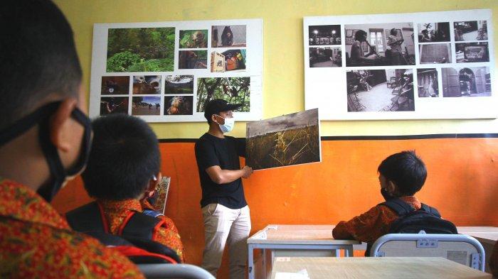 Pewarta Foto Indonesia Malang Kenalkan Profesi Pewarta Foto Pada Siswa Sekolah Dasar