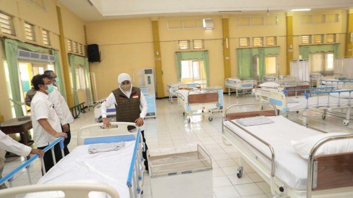 Segera Beroperasi, Rumah Sakit Darurat COVID-19 Jatim Siap Tampung hingga 500 Pasien