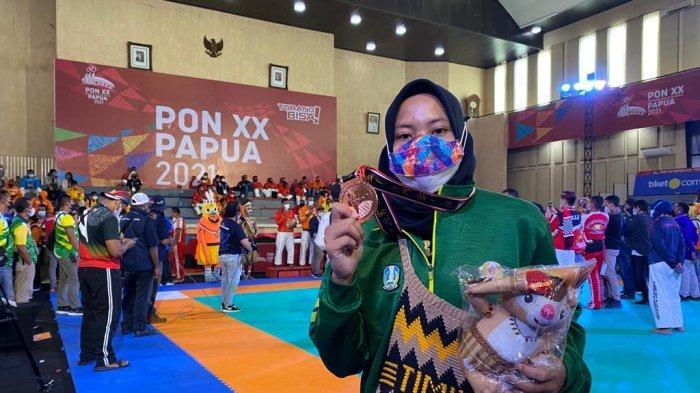 Aulia Nurdini Sumbang Medali untuk Jatim pada Ajang PON 2021