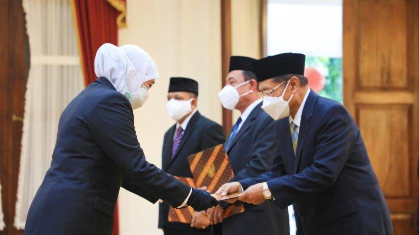 Drs KH Muhmamad Roziqi MM, Ketua Badan Amil Zakat Nasional Jatim 2021-2026
