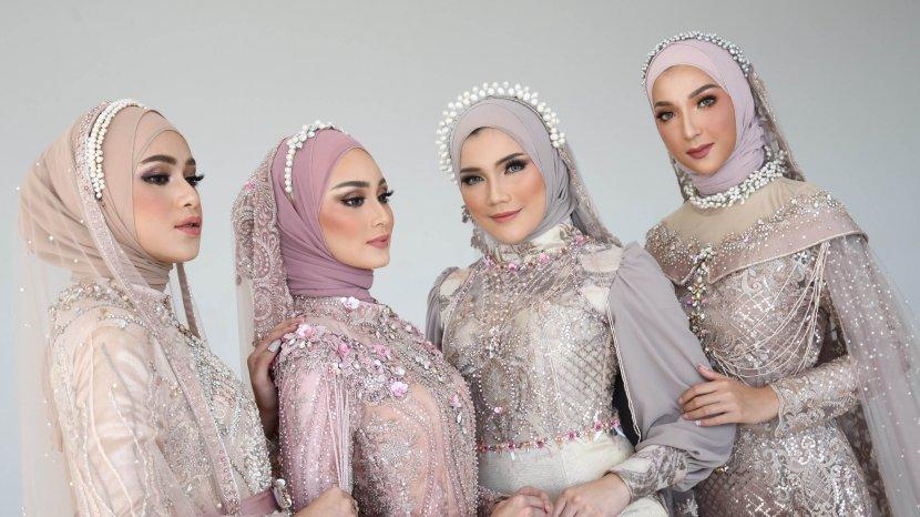 Desain Glamorous Coral oleh Whulyan Diharap Dapat Menjadi Inspirasi Busana Pernikahan Muslim