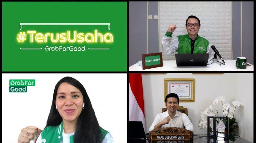 Wujudkan Program #TerusUsaha di Jatim, Ini 7 Solusi yang Dijalankan Grab Indonesia