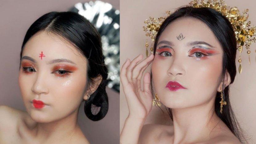 Brigitta Livia Padukan Kreasi Make Up Tradisional dan Modern untuk Perayaan Tahun Kerbau Logam
