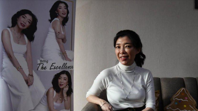 Sejak Sebelum Pandemi, Owner NJS Gold Naomi Julia Sudah Terbiasa Pakai Masker