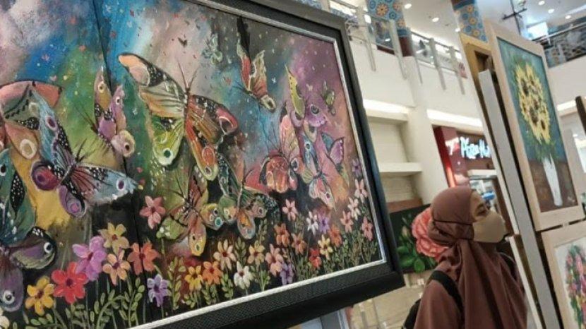 Hari Ibu, Sembilan Pelukis Perempuan Pamerkan Lukisan yang Dibuat Semasa Pandemi
