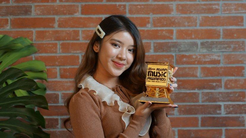 Tiara Andini Sabet Penghargaan Best New Asian Artist Indonesia di MAMA 2020