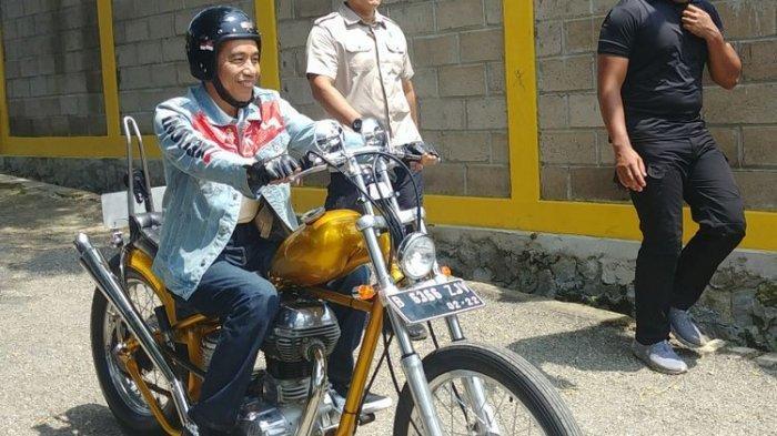 Kekayaan Jokowi Bertambah tapi Kendaraan Berkurang, Tak Ada Lagi Royal Enfield Bullet Chopperland