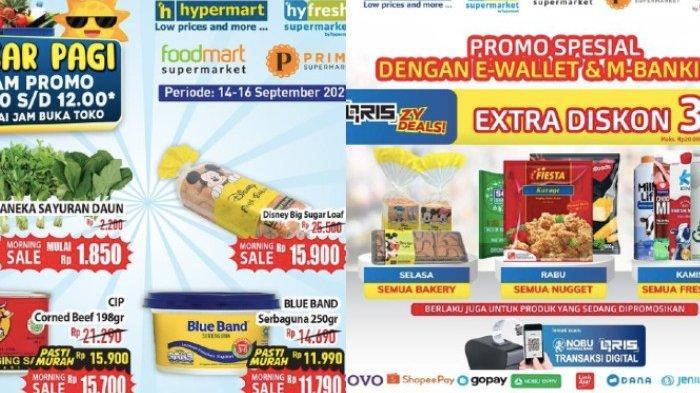 Katalog Promo Hypermart Rabu 15 September Diskon Pasar Segar dari Sayuran, Roti, Susu Segar dll