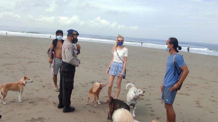 DTW dan Pantai di Bali Dibuka Dengan Kapasitas 50 Persen, Polres Badung Mulai Perketat Pengawasan