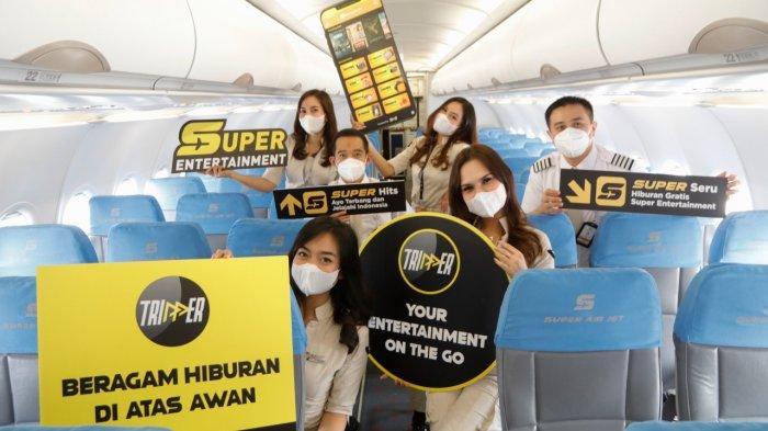Super Seru! Super Air Jet Tawarkan Naik Pesawat Sambil Nonton Film