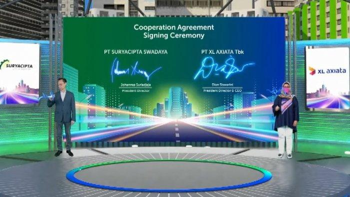 Gelar Jaringan Fiber Optik dan Solusi Bisnis di Kawasan Industri Suryacipta Karawang