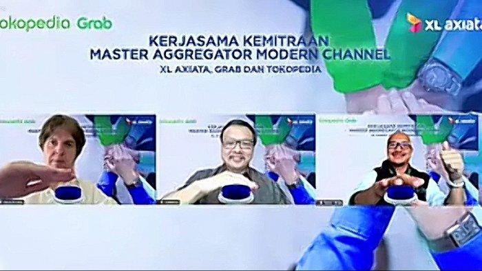 Pacu Kualitas dan Penjualan,XL Axiata Jalin Kemitraan Strategis dengan Grab dan Tokopedia