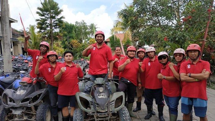 Serunya Naik ATV Lewati Goa dan Lalui Track Lumpur Serta Air Terjun