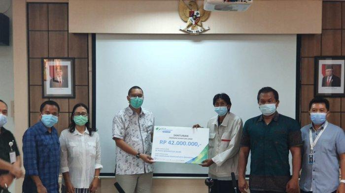 BPJamsostek Cabang Bali Denpasar Kembali Serahkan Santunan JKM