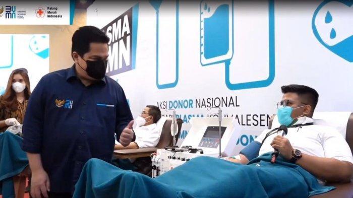 Donor Plasma, Pegadaian Dukung Program Plasma BUMN Untuk Indonesia