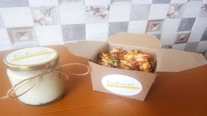 Sunflower Rice Box dan Strawberry Cream Cheese, Menu Sehat Dengan Harga Yang Terjangkau