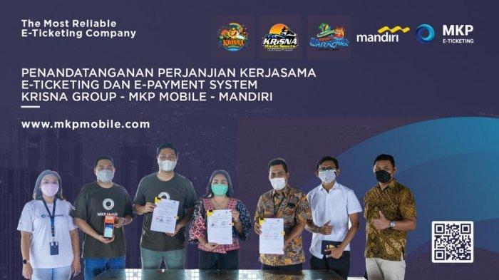 Tingkatkan Digital Tourism, Krisna Group Gandeng MKP & Bank Mandiri