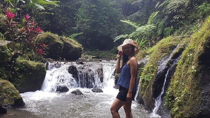 Krisik Waterfall, Nikmatnya Menjelajahi Sungai Diantara Tebing