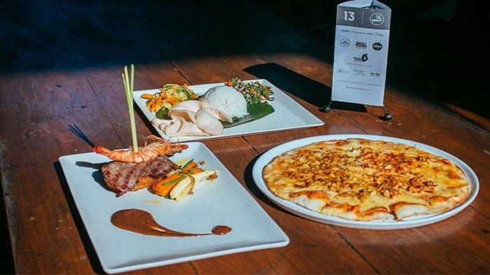 Lezatnya Lawar Gurita Semawang Dan Balado Chicken Pizza Di Rumah Sanur Creative Hub