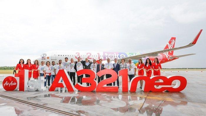 Kapasitas 236 Kursi, AirAsia Kenalkan Airbus A321neo Berlorong Tunggal