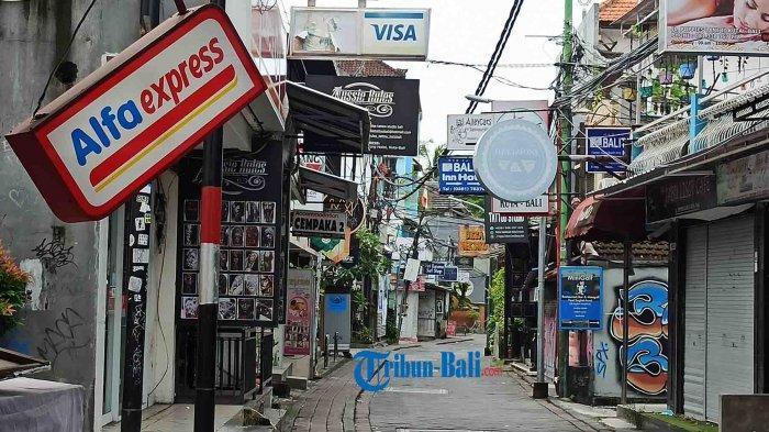 Potret Terkini Kawasan Wisata Kuta & Legian Bali Yang Mati Suri Kala Pandemi