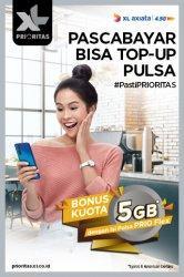 Tetap Dirumah, XL Prioritas Kenalkan PRIO Flex dan Whatsapp Business