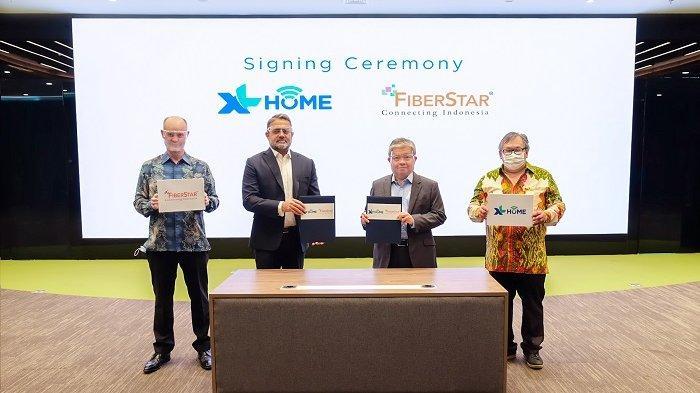 Perluas Jangkauan dan Tingkatkan Homes-passed, XL Home Bermitra Dengan FiberStar