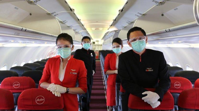 AirAsia Indonesia Kembali Layani Penerbangan Nusantara