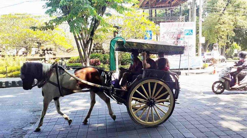 Asyiknya Ngabuburit dengan Tour Dokar Denpasar Heritage, Naik Dokar Gratis