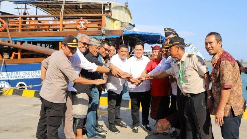 Tata Ulang, Pelabuhan Benoa Dijadikan Pintu Masuk Wisman Kelas Dunia