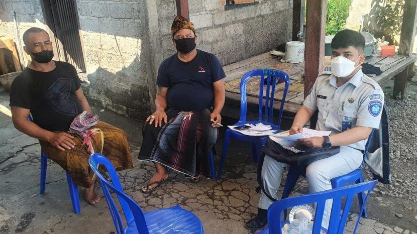 Libur Galungan, JR Bali Serahkan Santunan 4 Korban Meninggal Dunia