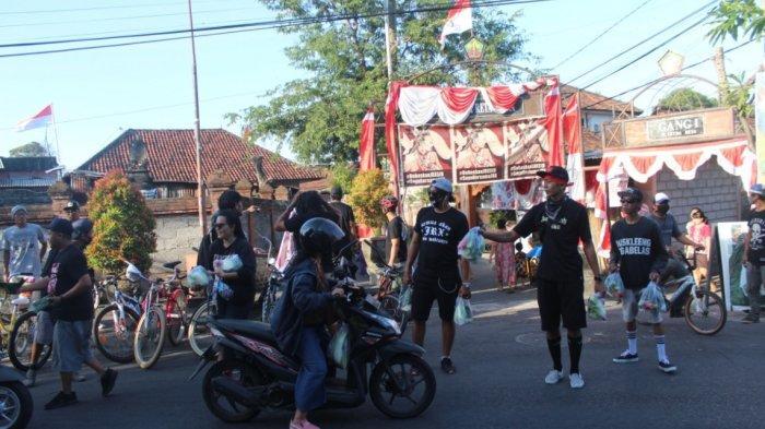 Bali dan Bekasi Lakukan aktivitas Bersepeda Dan Berbagi Pangan, Lanjutkan Semangat JRX SID