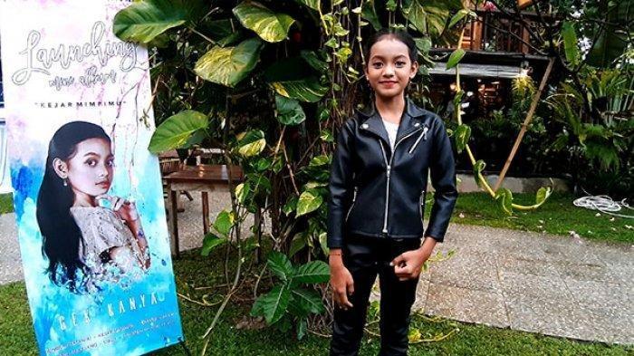 Berikut profil Gek Kanya, Penyanyi Cilik Pendatang Baru di Blantika Musik Bali