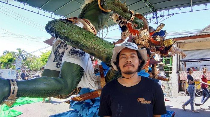 Habiskan 25 Kg Kerupuk Udang untuk Sisik 'Subrada Larung', Ini Cerita Doni Suarsana