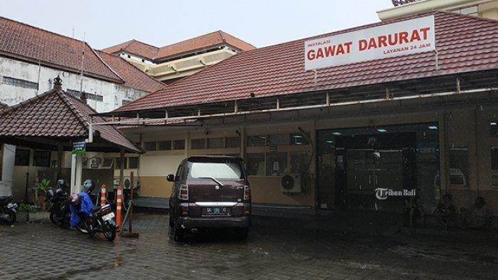 IGD RSUD Wangaya Denpasar Bali Lakukan Sistem Buka Tutup