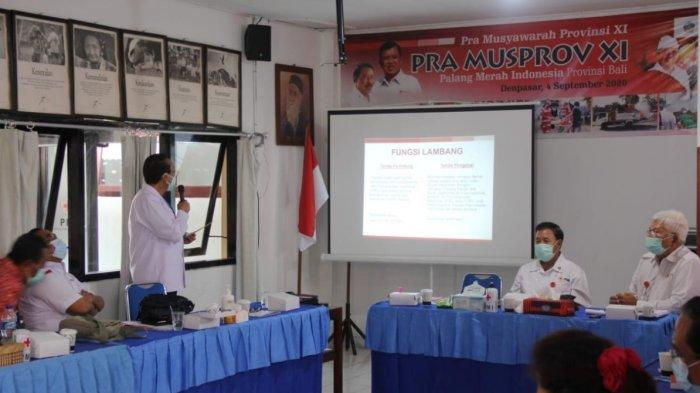 Pertemuan Perdana Pengurus PMI Bali 2020-2025, Tetap Eksis Respon Covid-19