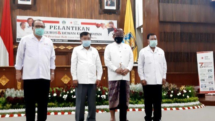 Jusuf Kalla Lantik Pengurus dan Dewan Kehormatan PMI Provinsi Bali 2020-2025