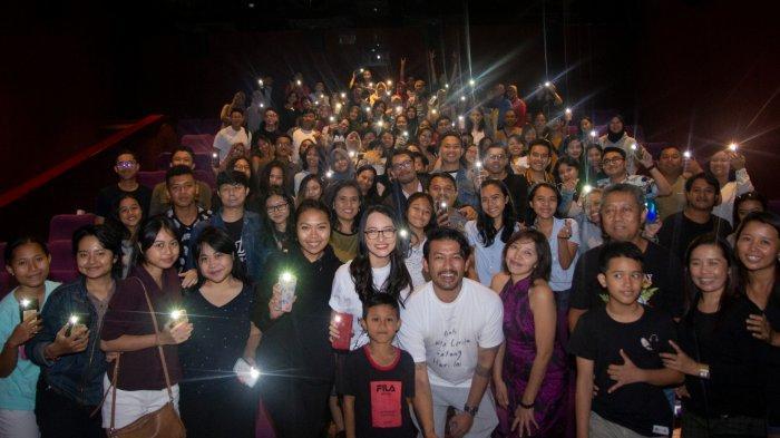 Rio Dewanto dan Jenny Jusuf Sapa Masyarakat Bali, Nobar NKCTHI di Level 21 dan Lippo Plaza Kuta