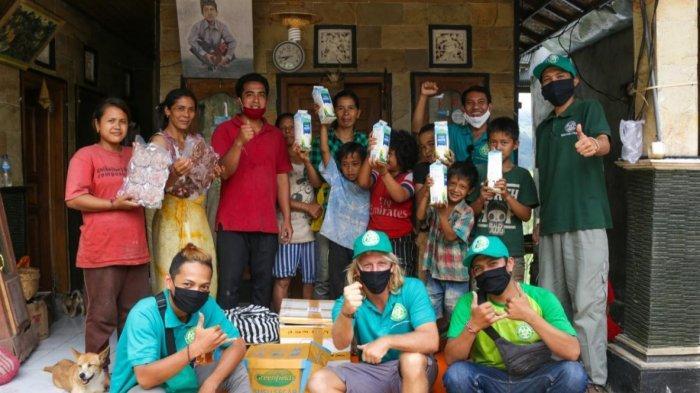 Bantu Pemerintah, SOS Sumbangkan Makanan Bergizi ke Masyarakat Terdampak Covid-19 di Bali