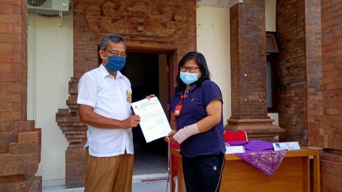 Peringati Hari Kesehatan Nasional, Puskesmas 3 Densel Bagikan Ribuan Masker