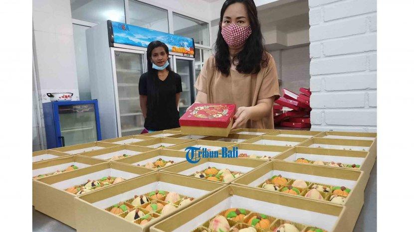 Jelang Imlek 2021, Nastar Karakter Kerbau Kreasi Angie's Cake Paling Banyak Diminati