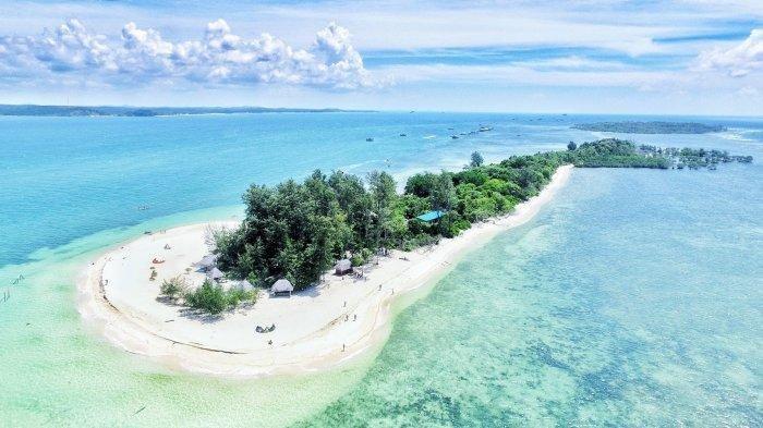 White Sand Island di Bintan Simpan Sejuta Pesona, Cocok Tempat Swafoto Keluarga