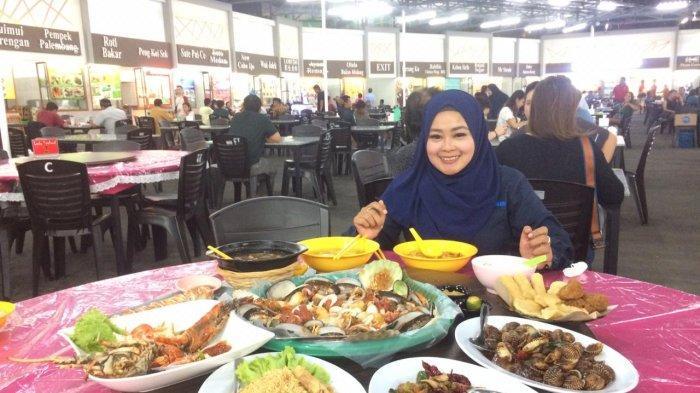 Makan Porsi Besar di Kerang Tumpah City Foodcourt, Lezatnya Gonggong Saus Singapore