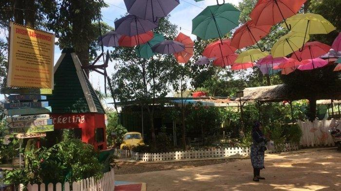 Jadi Objek Wisata Instagramable di Batam, Lagenda Park Miliki Pyton Breeding House