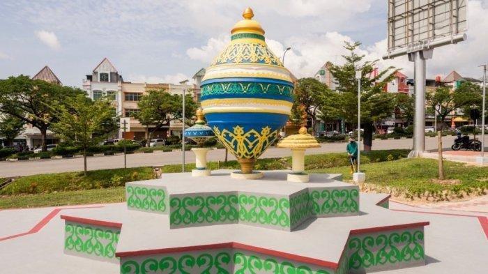 Pesona Tugu Gasing di Batam Centre, Mengenal Permainan Warisan Budaya Bumi Melayu